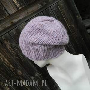 pastel czapki 100% wool * cudny kolor