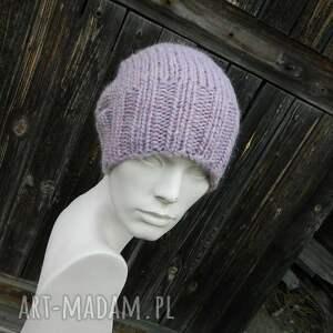 różowe czapki kolor 100% wool * cudny
