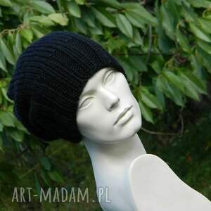 handmade czapki zimowa czapka 100% wool unisex klasyk