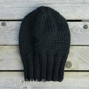 eleganckie czapki ciepła 100% wool unisex klasyk
