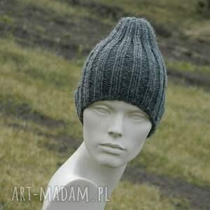 frapujące czapki wool 100% z moherem * czapka