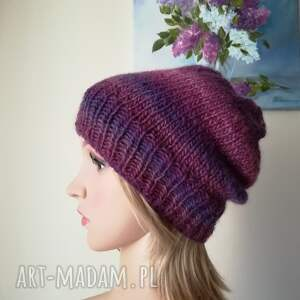 hand made czapki rękodzieło wrzosowisko czapka