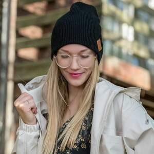 czapki czapka jesienna dwustronna - super zaleta - można ją