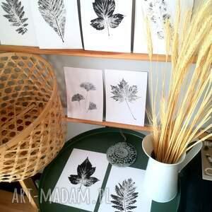 ciekawe dekoracje liść prezent dla miłośnika przyrody lub artystycznej