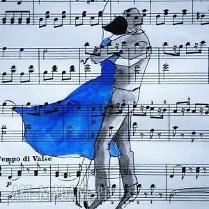 eleganckie dekoracje akwarela symfonia serc artystki