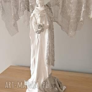hand made dekoracje figura anioła radość zawita w twoim domu... unikatowa