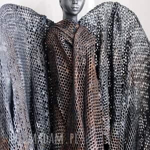 anioł stróż dekoracje srebrne unikatowa i jedyna w swoim rodzaju figura