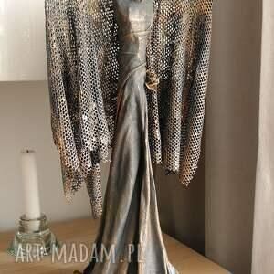 anioł stróż dekoracje srebrne szczęścia