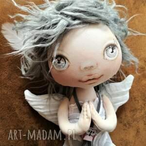 ręczne wykonanie dekoracje aniołek dekoracja ścienna - figurka
