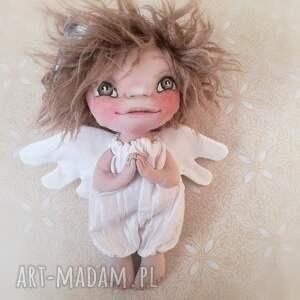 urokliwe dekoracje anioł aniołek dekoracja ścienna - figurka
