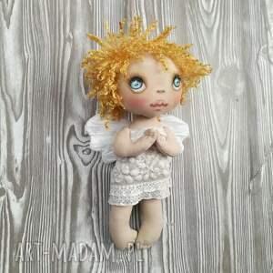hand-made dekoracje anioł aniołek dekoracja ścienna - figurka