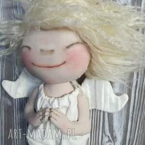 pomysł na świąteczny prezent anioł aniołek dekoracja ścienna - figurka