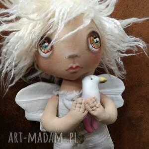 dekoracje mewa aniołek dekoracja ścienna - figurka