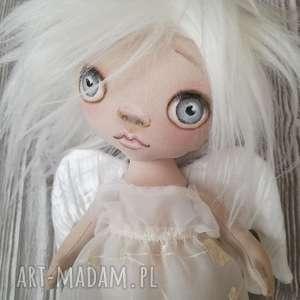 ręcznie zrobione dekoracje sypialnia aniołek dekoracja ścienna - figurka