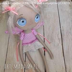 dekoracje lalka aniołek - dekoracja tekstylna