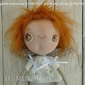 ciekawe dekoracje lalka aniołek - dekoracja tekstylna