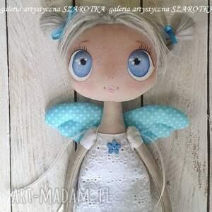 atrakcyjne dekoracje lalka aniołek - dekoracja tekstylna