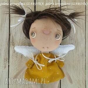 aniołek lalka - dekoracja tekstylna