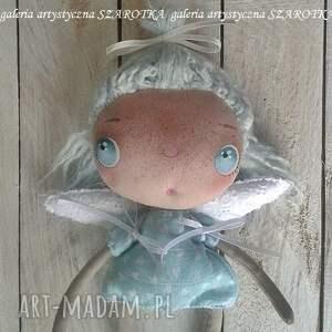 efektowne dekoracje lalka aniołek - dekoracja tekstylna