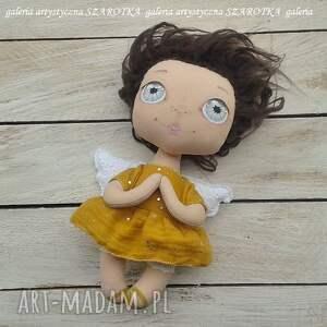 na urodziny dekoracje aniołek lalka - dekoracja