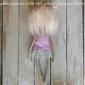 dekoracje na urodziny aniołek lalka - dekoracja tekstylna