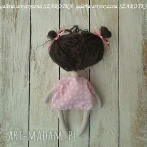 dekoracje na szczęście aniołek lalka - dekoracja tekstylna