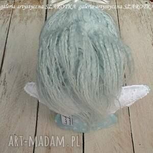 efektowne dekoracje aniołek lalka - dekoracja tekstylna