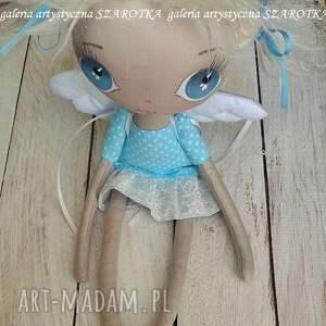 unikalne na urodziny aniołek lalka - dekoracja tekstylna