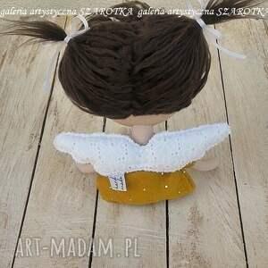 na urodziny dekoracje aniołek lalka - dekoracja tekstylna