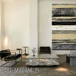 hand made dekoracje obrazy nowoczesne bardzo duży obraz do salonu