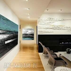intrygujące dekoracje obrazy-nowoczesne bardzo duży obraz do salonu z