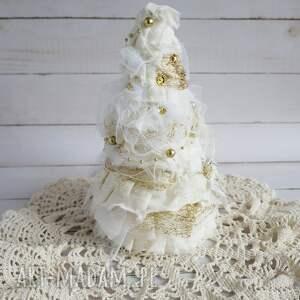 pomysły na prezenty święta boże-narodzenie choinka biało-złota
