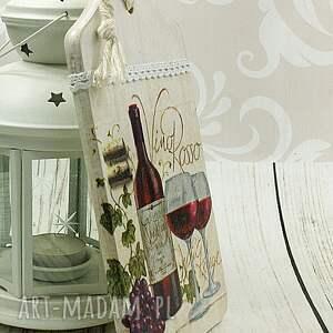 niekonwencjonalne dekoracje deska ozdobna - domowa winnica