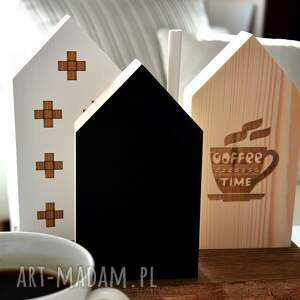 dekoracje domki 3 czas na kawę