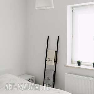 drabina dekoracje białe drabinka ozdobna &#47
