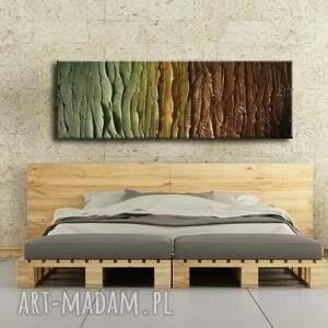 beżowe dekoracje ziemiste-kolory duży nowoczesny obraz do