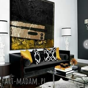 szare dekoracje duży obraz do nowoczesnych