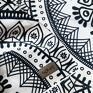 Zasłony kotary bawełniane 2 szt z nadrukiem Lace dekoracja