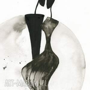 nietuzinkowe dekoracje minimalizm grafika 30x40 cm wykonana ręcznie
