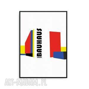 handmade dekoracje grafika bau wymiaru b2 (50 x 70 cm) w stylu