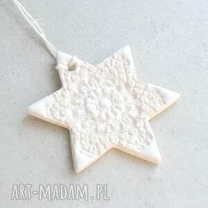 prezenty świąteczne gwiazdka - zawieszka