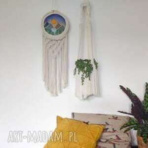 dekoracje haft niezwykła dekoracja ścienna - haftowany