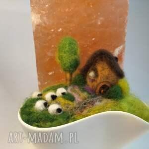 brązowe dekoracje miniaturowy-krajobraz igielnik-miniaturowy krajobraz