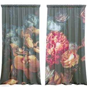 trendy dekoracje zasłony komplet bawełnianych zasłon