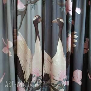 intrygujące dekoracje zasłony komplet bawełnianych zasłon