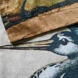 dekoracje fototapeta komplet zasłon bawełnianych