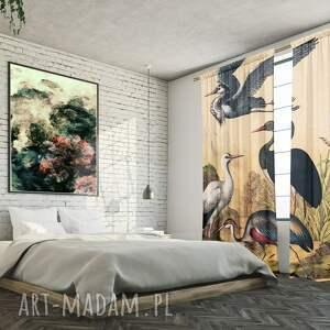 atrakcyjne dekoracje komplet zasłon bawełnianych