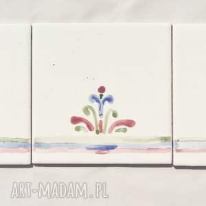 kolorowe dekoracje dekor malowane ludowe kafelki