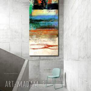 art and texture dekoracje: masajska abstrakcja