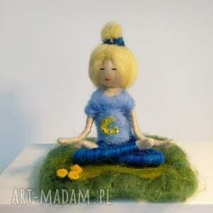 wyjątkowe dekoracje medytacja medytacja. Relaks. Yoginka olga